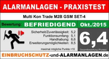 Bewertung Multi Kon Trade M2B GSM SET-4