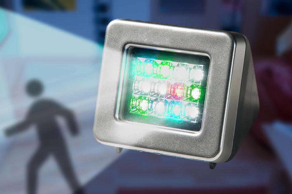 TV-Simulator schreckt Einbrecher ab