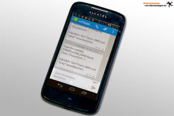 Alarmanlage gibt per SMS Alarm
