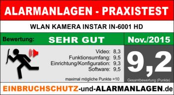 Test und Bewertung derWLAN Kamera INSTAR_IN6001HD