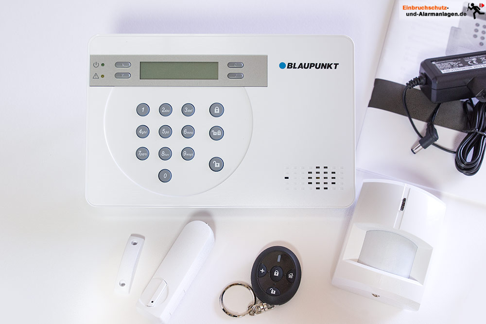 Alarmanlage Blaupunkt SA 2700 Smart GSM im Test