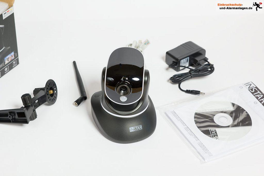 Test Instar IN-6014 HD WLAN Kamera