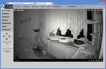 Test Instar IN-6014 HD WLAN Kamera