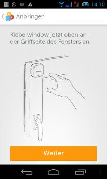 Gigaset-Smartphone-Montage-fenstersensor