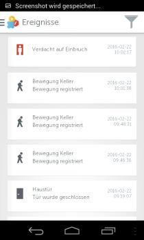 Gigaset-Smartphone-Protokollierte-Ereignisse
