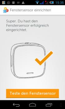 Gigaset-Smartphone-Sensor-kalibriert