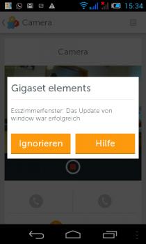 Gigaset-Smartphone-Update-erfolgreich