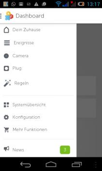 gigaset-Smartphon-App-dashboard-menu