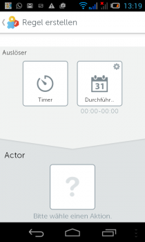 gigaset-Smartphon-App-regel-actor