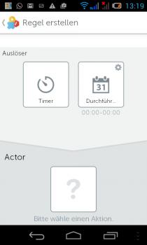 gigaset-Smartphon-App-regel-actor
