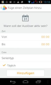 gigaset-Smartphon-App-regel-zeitplan