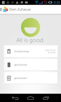 gigaset-Smartphon-App-status-homecoming