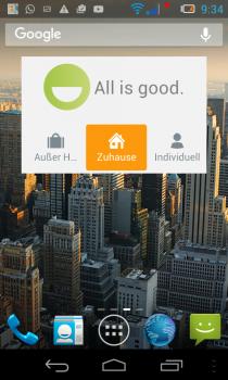 gigaset-Smartphon-App-widget