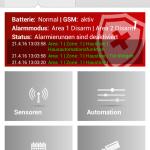 Lupusec-xt2-alarmanlage-Smartphone-Startscreen