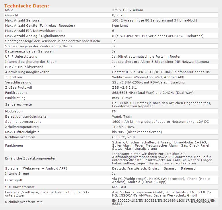 lupusec-xt2-plus-technische-daten