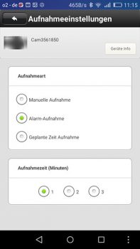 ALP500-app-aufnahmeeinstellungen