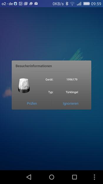 IP-Tuersprechanlage-app-meldet-klingeln