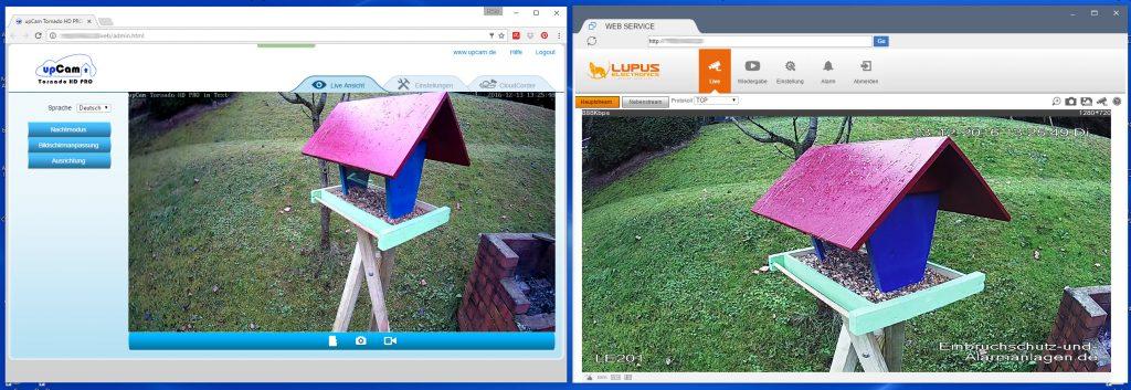 upcam-test-screen-edge--le201--interface-vergleich