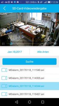 foscam-c1-app-wiedergabe-von-aufzeichnungen