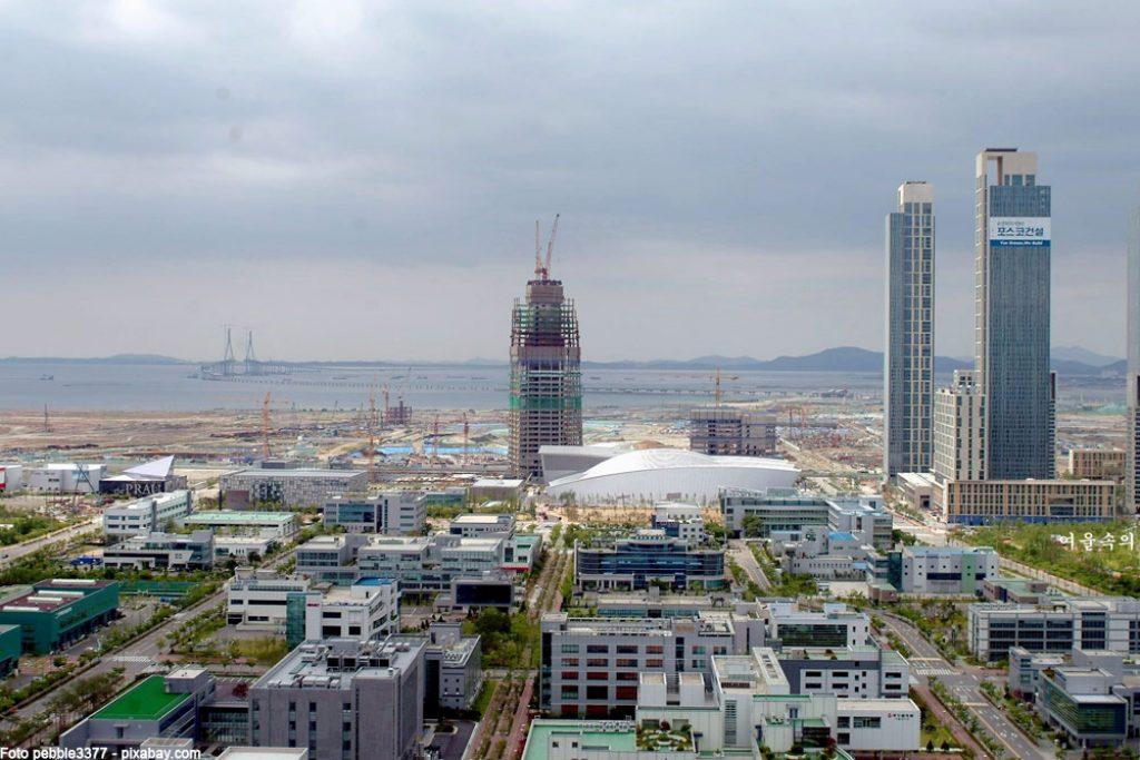 songdo-korea-stadt