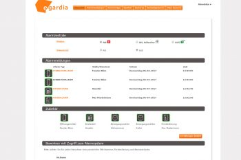 Egardia-GATE-03-Test-Webinterface-Hauptscreen