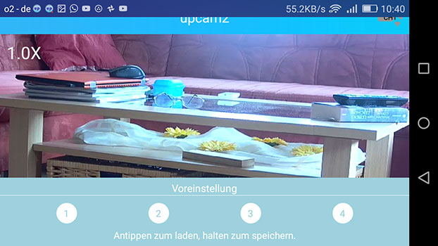 app-upCam-Hurricane-HD-Pro-tisch-voreinstellung