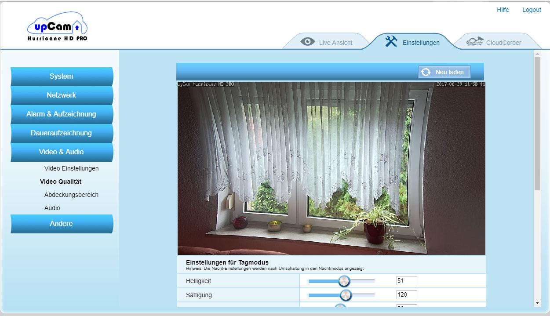 upCam Hurricane HD PRO Test - Schwenkbare Überwachungskamera mit ...