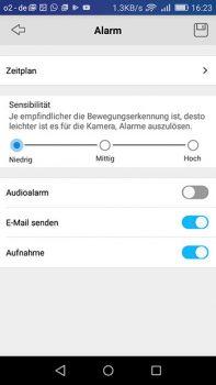App-Reolink-Argus-Einstellungen-Empfindlichkeit