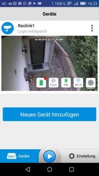 App-Reolink-Argus-Hauseingang