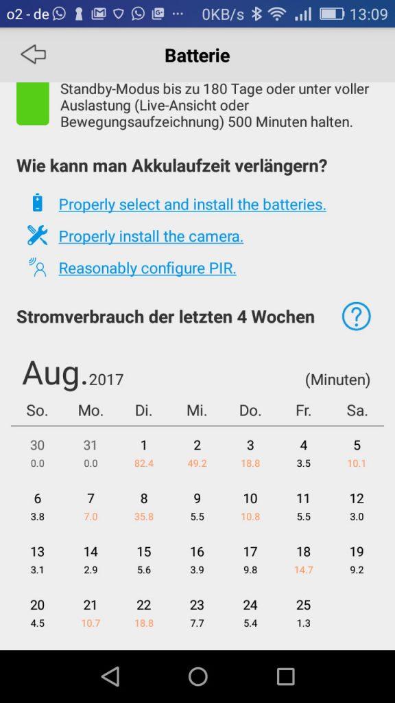 App-Reolink-Argus-Test-Zeiten