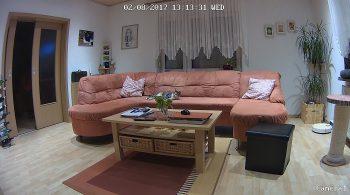 Reolink-Argus-Aufnahme-Zimmerbeleuchtung