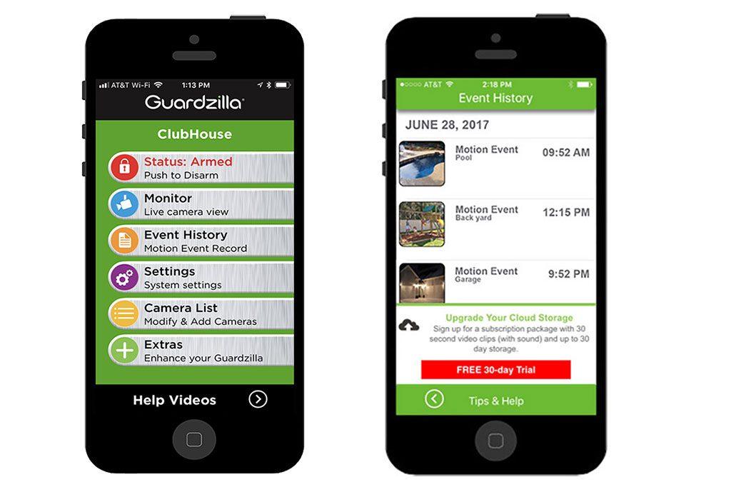 Guardzilla-Kamera-App