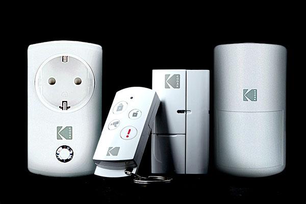 kodak security smart home sicherheitssystem von kodak. Black Bedroom Furniture Sets. Home Design Ideas