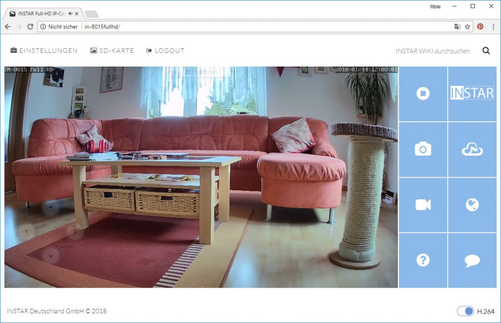 Instar-in-8015-Full-HD-Test-webinterface-tageslicht