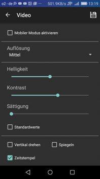 Screenshot-Instarvision-videoeinstellungen