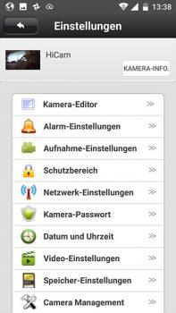 App-HiKam-A7-Test-Ueberwachungskamera-Einstellungen
