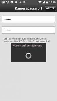 App-HiKam-A7-Test-Ueberwachungskamera-warten-verifizierung