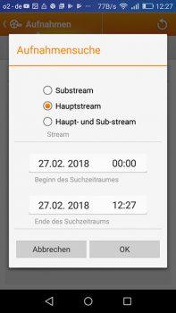 App--Lupusnet-LE203-Test-Ueberwachungskamera-Aufzeichnungen-filtern