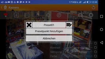 App--Lupusnet-LE203-Test-Ueberwachungskamera-Kameraposition-speichern