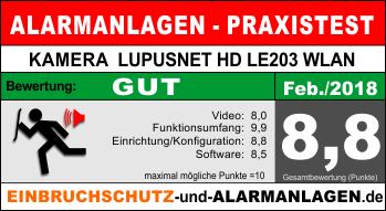 Bewertung-Lupusec-Lupusnet-LE203