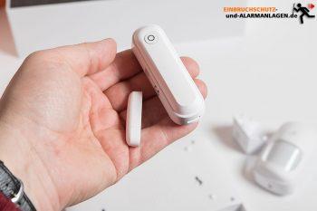Lupus-Lupusec-XT1-Plus-Alarmanlage-Test-Tuer-fenster-Sensor