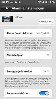 Smartphone-Screenshot-Alarmeinstellungen-HiKam-A7