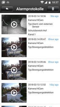 Smartphone-Screenshot-Alarmprotokoll-HiKam-A7