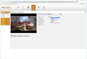 Webinterface-Lupusnet-LE203-Test-Ueberwachungskamera-Bildeinstellungen4-weissabgleich
