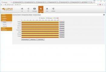 Webinterface-Lupusnet-LE203-Test-Ueberwachungskamera-Speicher-Zeitplan