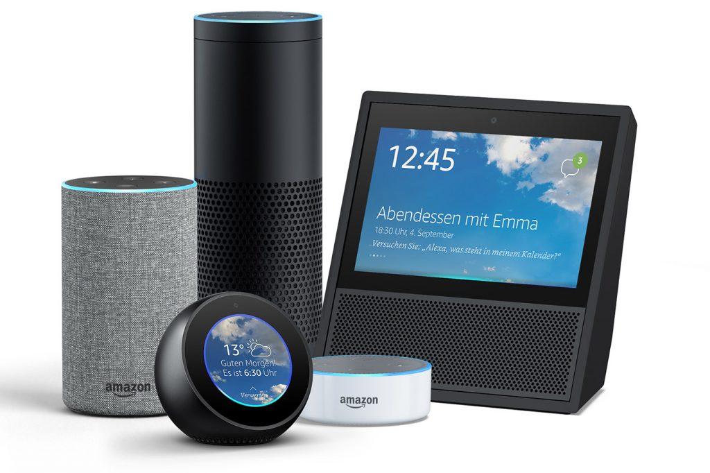 Alexa-Echo Sprachsteuerung von Amazon