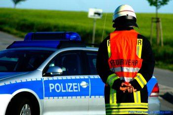 Feuerwehr-Polizei