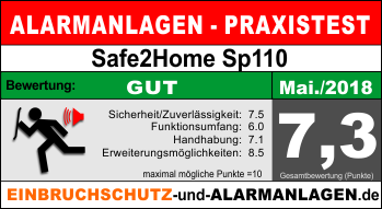 Bewertung-Safe2Home-SP110-SET