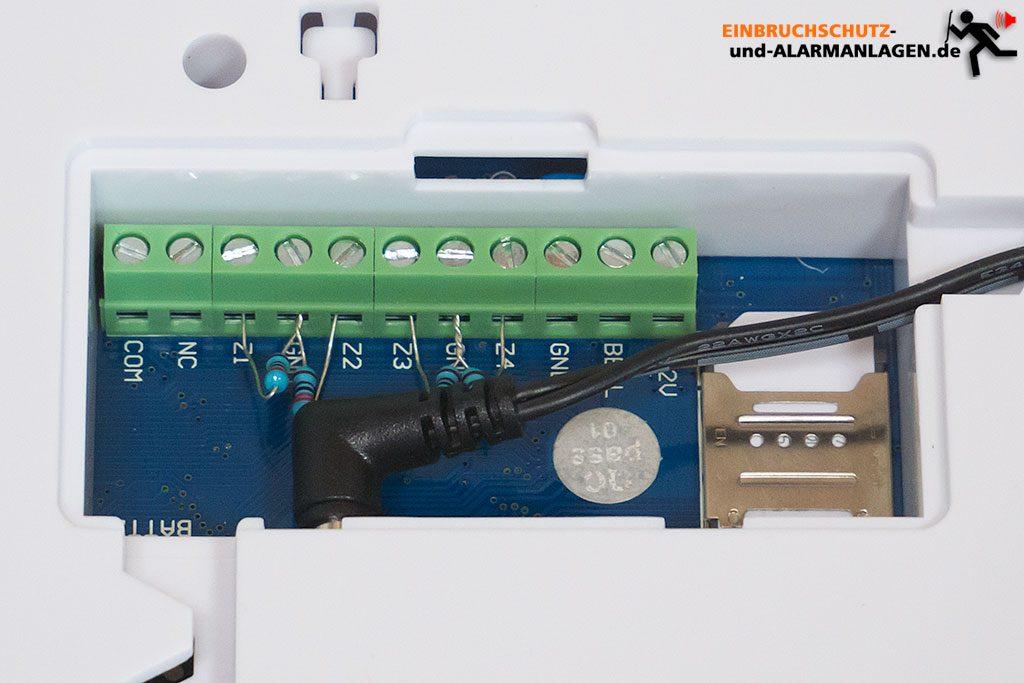 Safe2Home-SP110-Test-Anschluesse