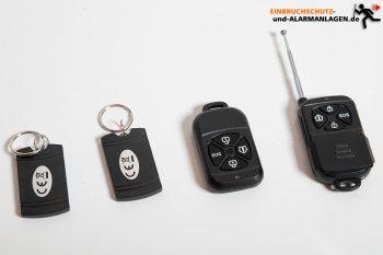 Safe2Home-SP110-Test-RFID-Chip-Fernsteuerung